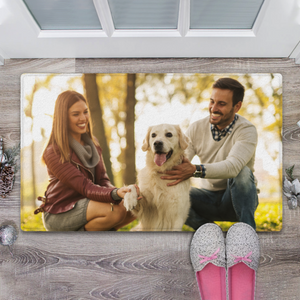Personalized Photo Doormat Custom Doormat-Create Your Own Doormat