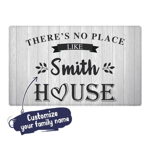 Personalized Family Name Doormat-Our Favorite Place Mat