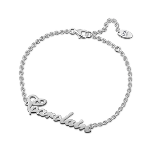 Carrie Style 14K Gold Plated Name Bracelet
