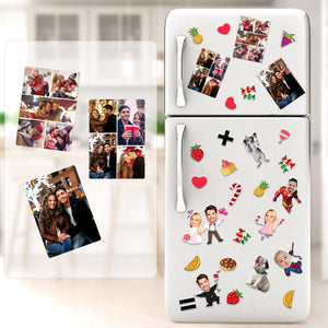 Couple Photo Personalized Fridge Magnet