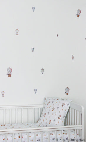 Decorative Stickers - Hot Air Balloons