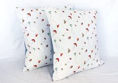 Cushion - Kites on white