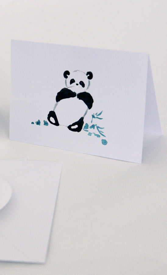 Greeting Cards - Pandas