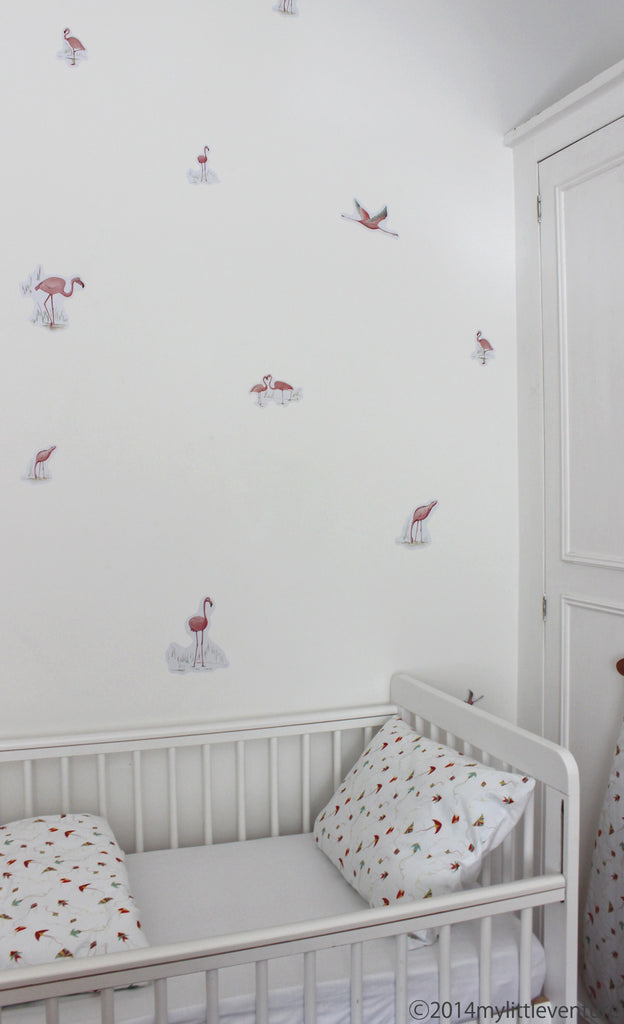 Decorative Stickers - Pink Flamingos