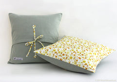 Cushion - Yellow Blossoms
