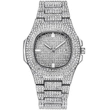 Load image into Gallery viewer, ICE-Out Bling Diamond Watch