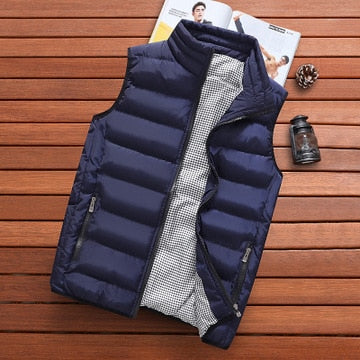 Men High Quality Vest Jacket