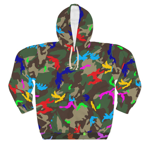 PRIMARY COLOR CAMO (PULLOVER HOODIE)