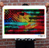 FREEDOM FLAG - Giclée Fine Art Print