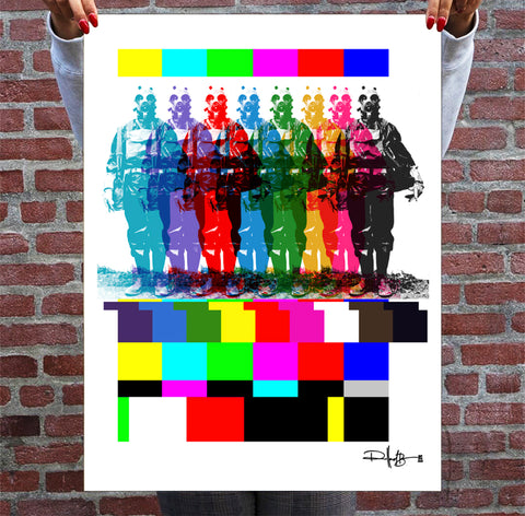 TEST PATTERN TRAVELERS - Giclée Fine Art Print