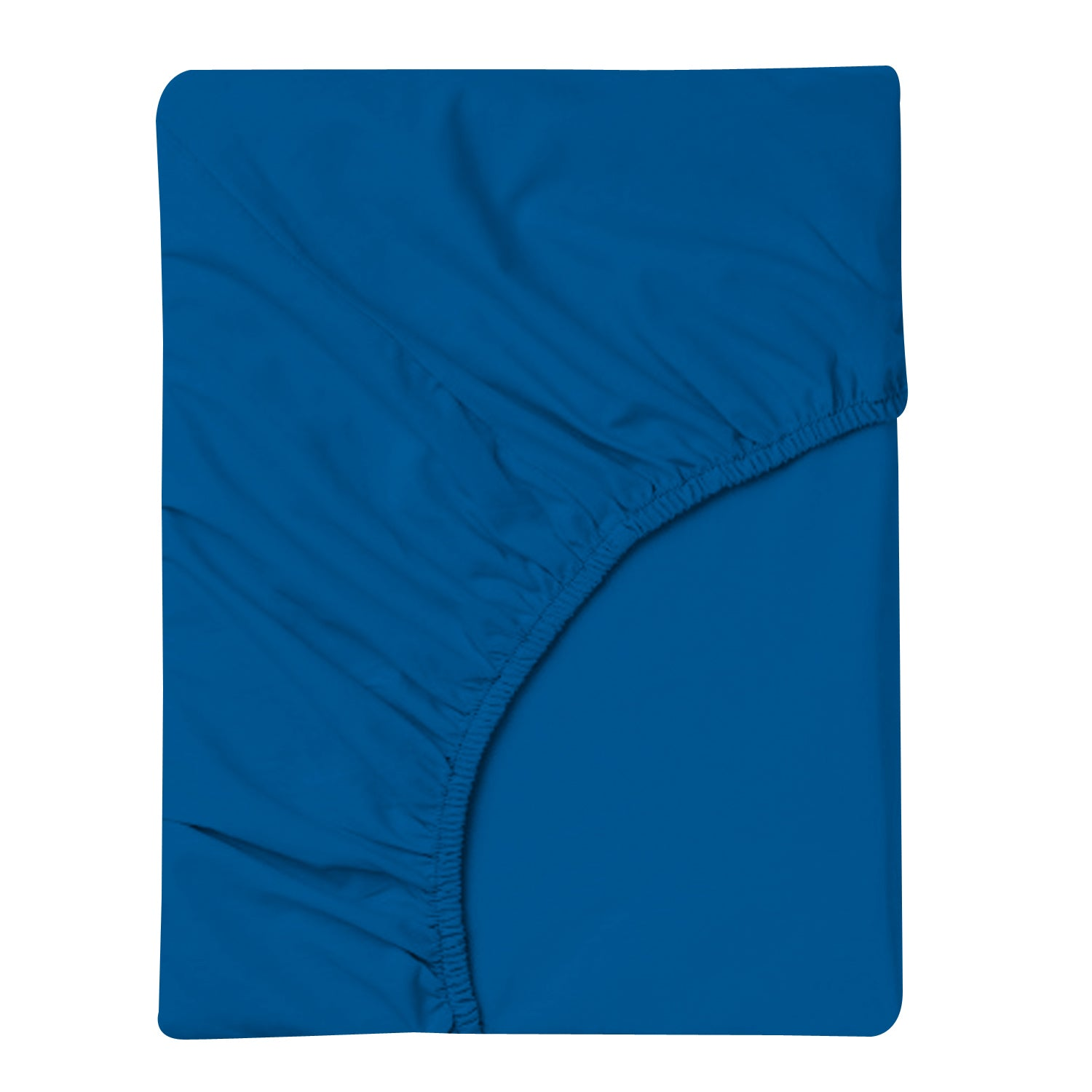 Dazzling Blue Ultrafine Cotton Sateen Sheet Set - 300TC
