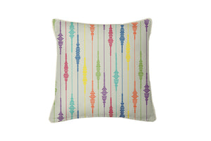 Patterned Lines Cushion Cover
