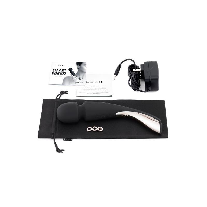 LELO SMART WAND MEDIANO NEGRO
