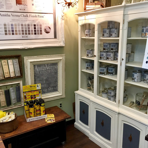Amitha Verma Chalk Finish Paint for furniture available at Vintage Hip Decor