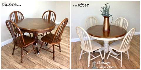 Furniture Makeovers at Vintage Hip Decor