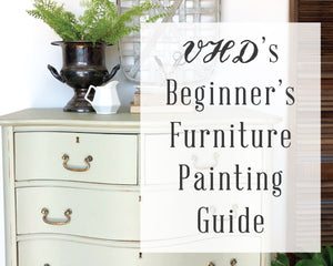 How To Paint Furniture Tutorial - PDF