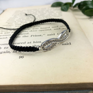 Crystal Infinity Bracelet - Special Gift for Friend