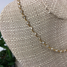 Load image into Gallery viewer, Gold Plated Chanelle Necklace - Swarovski Crystal Jewelry