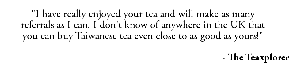 Green Terrace Teas Home Page - Teaxplorer Quote