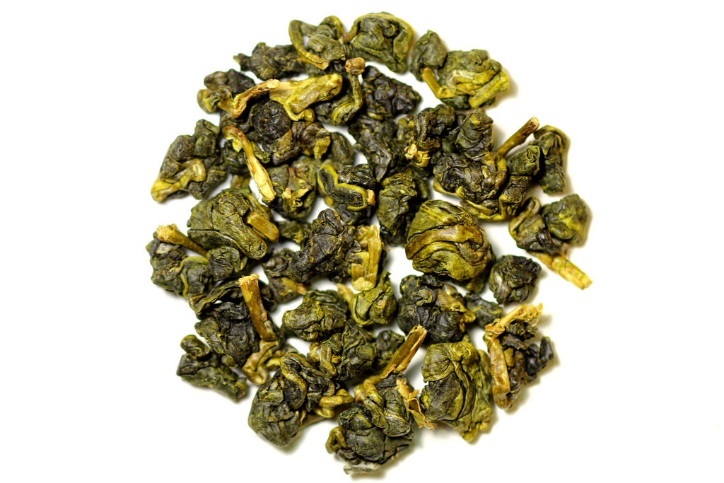 Li Shan High Mountain Oolong dry leaves