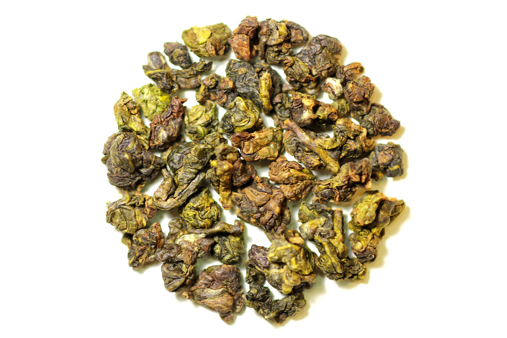Gui Fei Oolong dry tea leaves