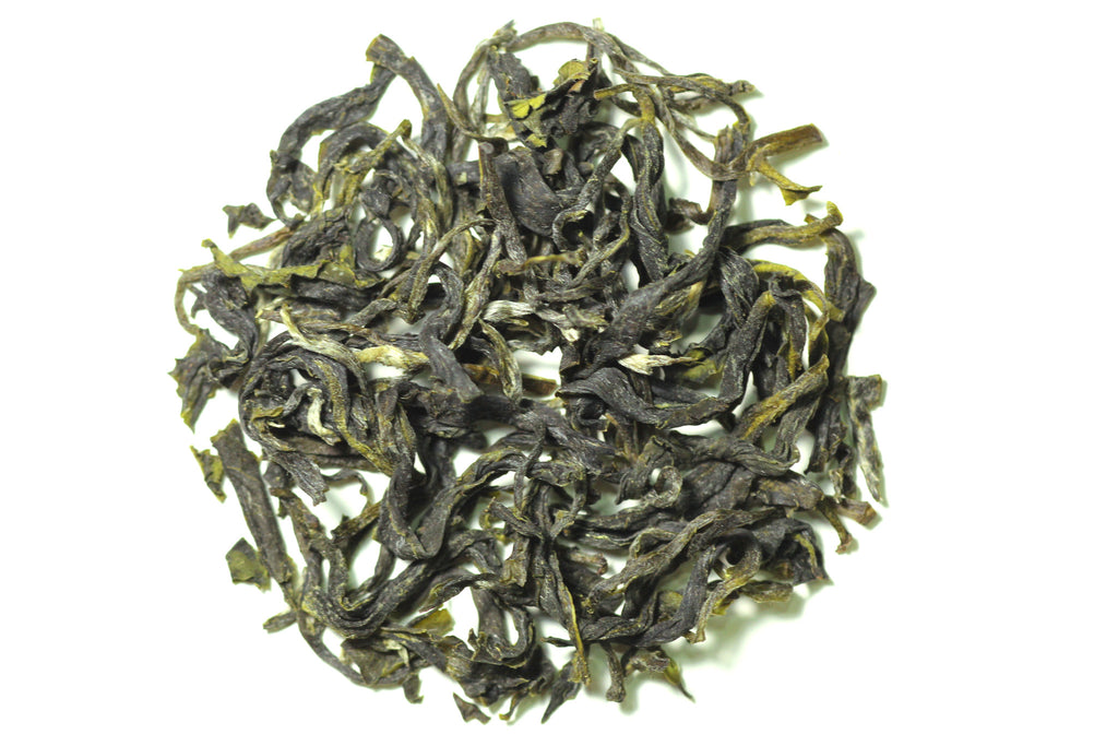 Bi Luo Chun Green Tea dry leaves