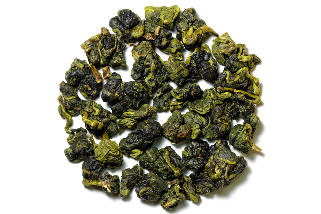 Four Seasons Spring Oolong dry leaves