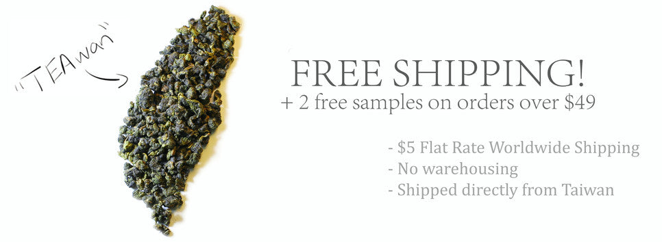 Green Terrace Teas Homepage Image - Free Shipping