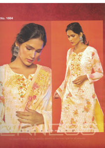 Aaghaz Georgette Dress 1004
