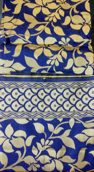 Banaras Cotton Satin Fabric 5208