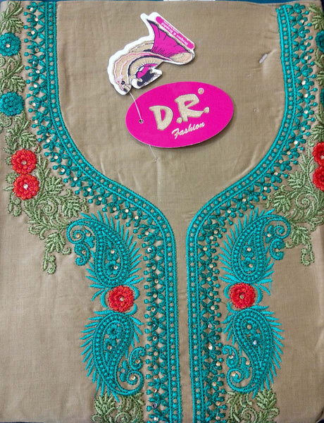 Banaras Cotton Satin Fabric 5209