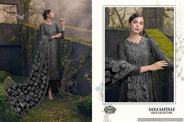 Shree Sana Safinaz Gold Collection 2 Pakistani Suits 2125
