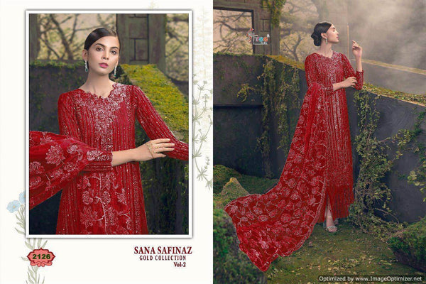 Shree Sana Safinaz Gold Collection 2 Pakistani Suits 2126
