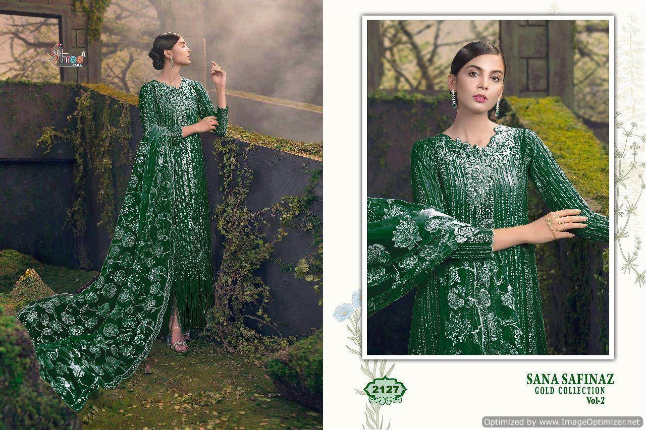 Shree Sana Safinaz Gold Collection 2 Pakistani Suits 2127