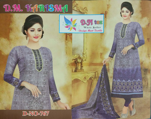 Deshi Cotton Three Pieces 767-4