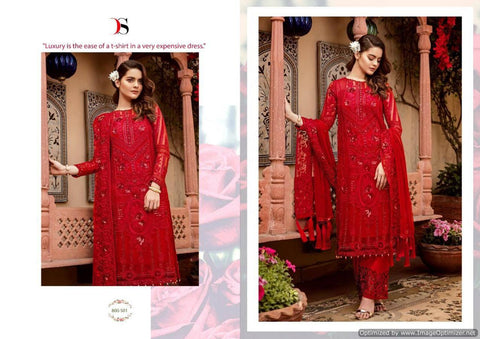 Deepsy Imorzia 10 Georgette Pakistani Salwar Suits 800-501