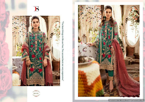 Deepsy Imorzia 10 Georgette Pakistani Salwar Suits 800-502