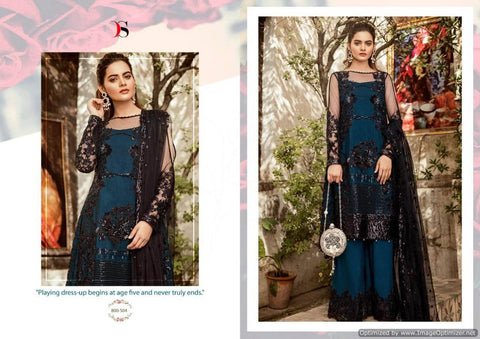 Deepsy Imorzia 10 Georgette Pakistani Salwar Suits 800-504
