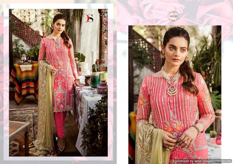 Deepsy Imorzia 10 Georgette Pakistani Salwar Suits 800-507
