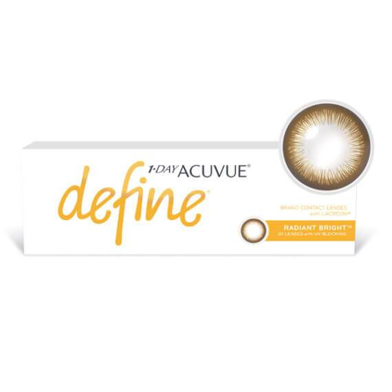 1 Day Acuvue Define Radiant Bright