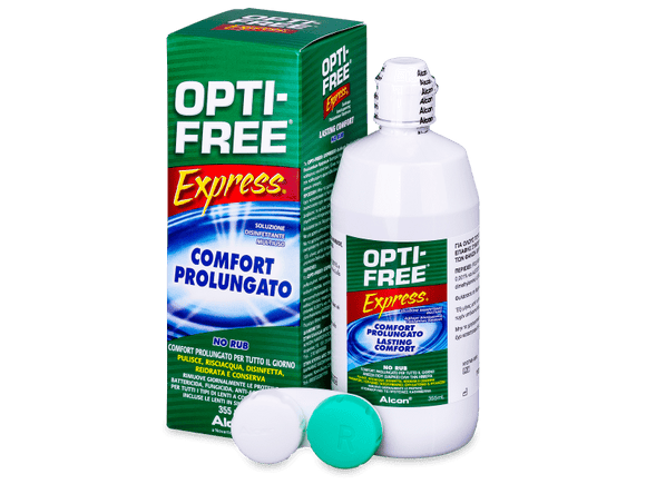 OPTI-FREE Express Solution 355 ml - Contact Lens Qatar