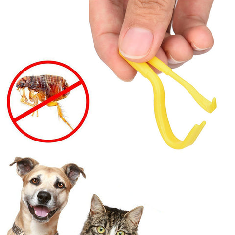 2PCS Tick Twister Hook Tool Tick Remover Dog