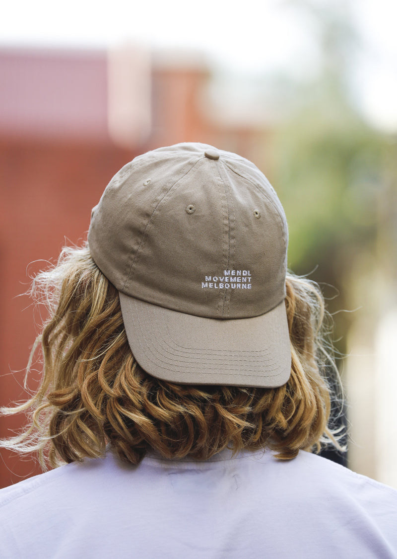 Mendl Movement Panel Cap Beige