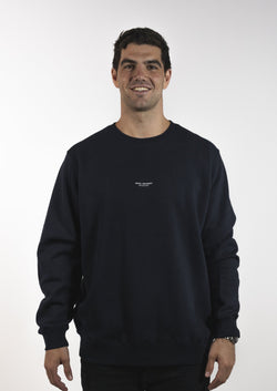 Mendl Flinders Fleece Sweater Navy
