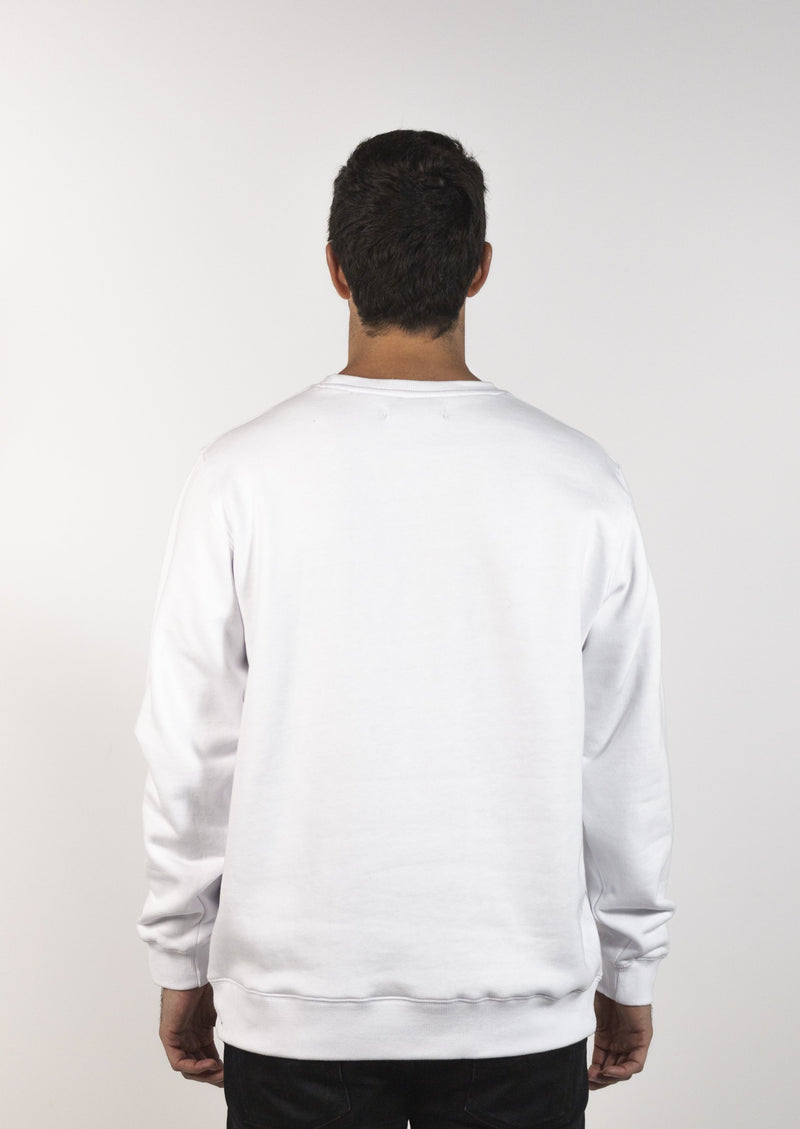 Mendl Flinders Fleece Sweater White