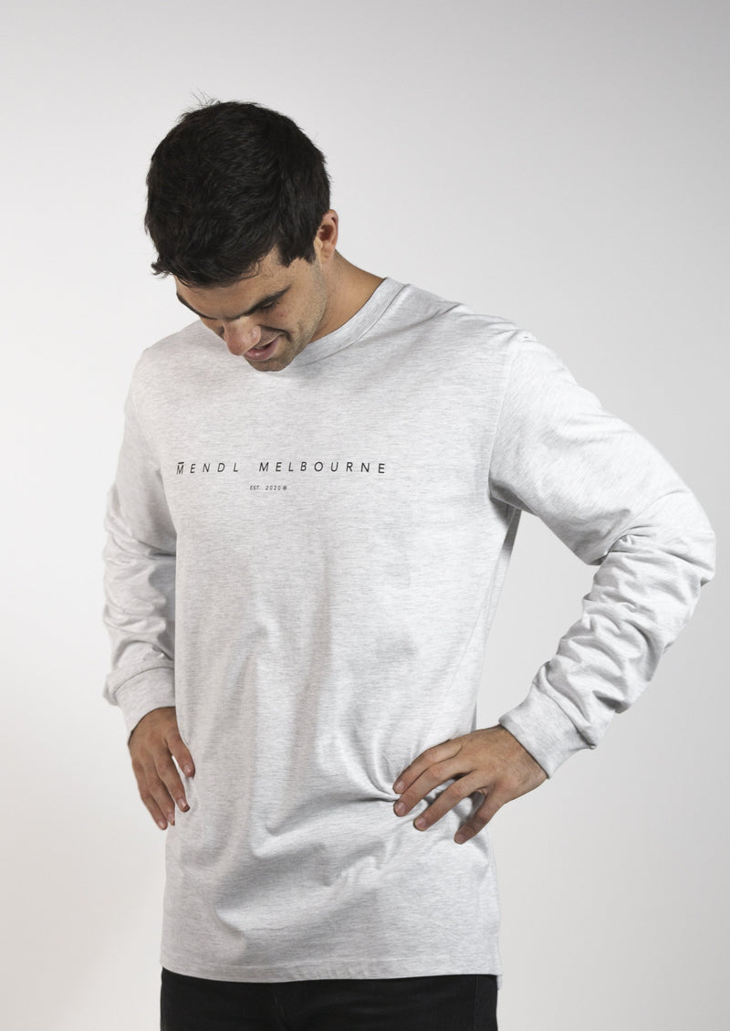 Mendl Hampton Long Sleeve Tee Grey