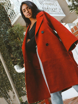 Bergen Full Length Wool Coat Clothing m-usefashion