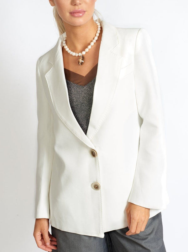 Boss Babe Oversized Blazer Clothing m-usefashion XS White
