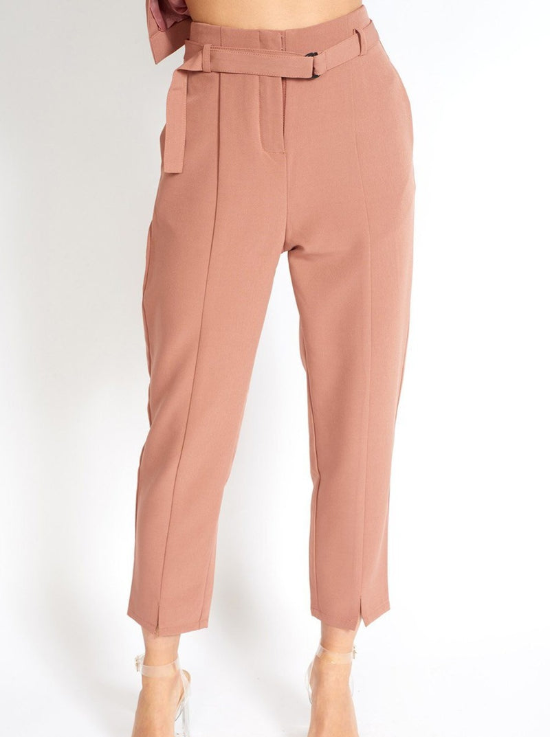 Business Babe Capri Suit Pants Clothing m-usefashion