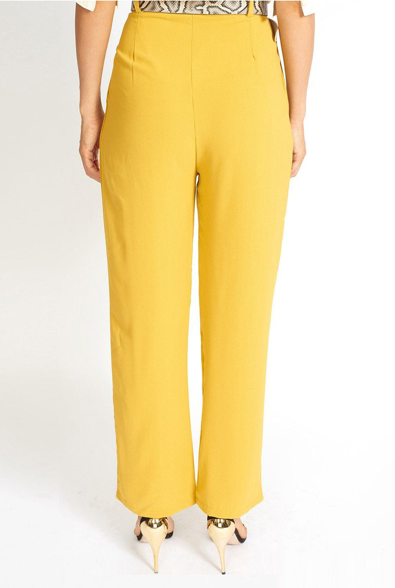 Essential High Waisted Suit Pants Clothing m-usefashion